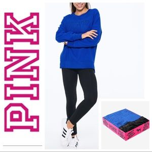 NEW Victoria's Secret PINK Legging & SWEATER Set